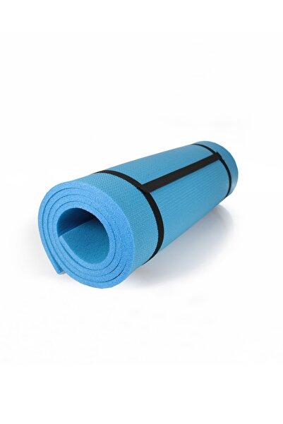 Walke 10 Mm Pilates Matı Yoga Matı Kamp Matı Mavi Boy 180 Cm En 61 Cm Kalınlık