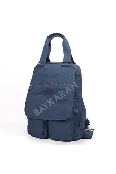 SMART BAGS 1174 Orta Boy Kadın Sırt Çantası 89 Füme Laci