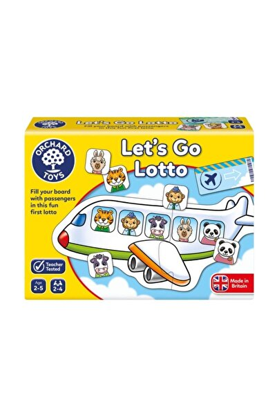 Orchard Toys Let's Go Lotto 2-5 Yaş