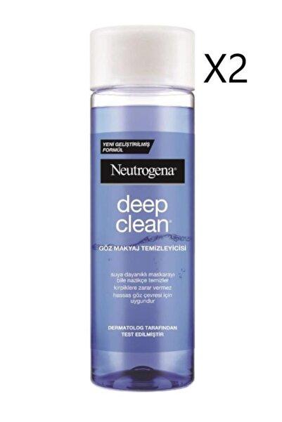 Neutrogena Göz Makyaj Temizleyicisi 125 ml X2