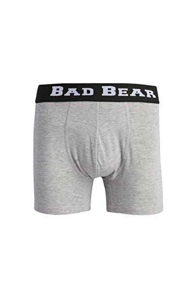 Bad Bear Erkek Gri Düz Boxer 18.01.03.019
