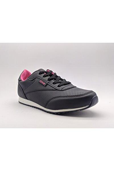 GEZER Kadın Mikrofiber Sneaker, 6 Ay Garantili Patentli Ürün,yerli Üretim,siyah,67544810