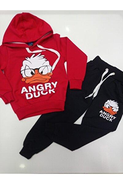 DISNEY Angry Duck Baskılı Eşofman Takımı