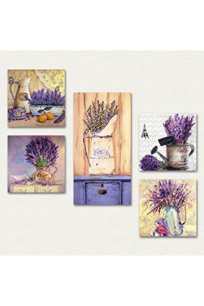 Cadran Collage Style 5 Parçalı Mdf Tablo Atf64