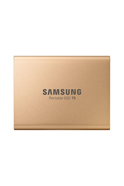 Samsung Taşınabilir Ssd T5 usb 3.1 500gb (Altın)