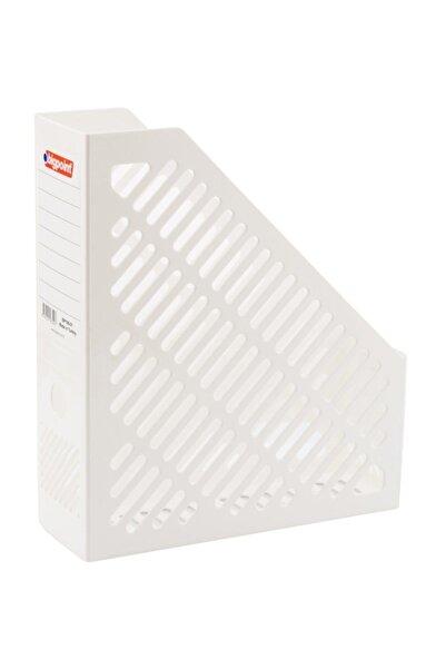 Bigpoint Plastik Kutu Klasör Magazinlik Beyaz