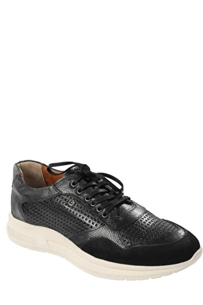 Pierre Cardin Siyah Deri Erkek Ayakkabı 1024