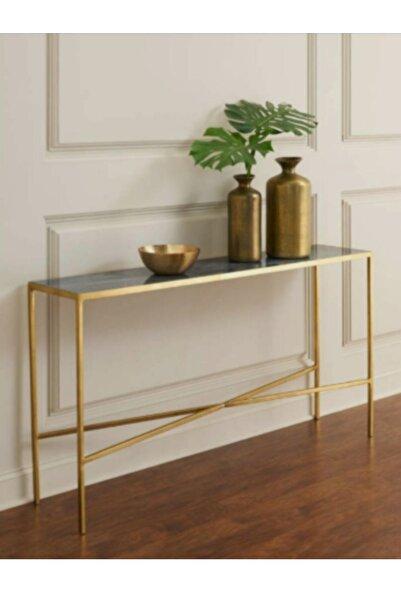Hitit Dekorasyon Eta Gold Metal Dresuar/konsol