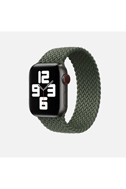 zore Apple Watch 42mm Krd-32 Large Kordon Yeşil