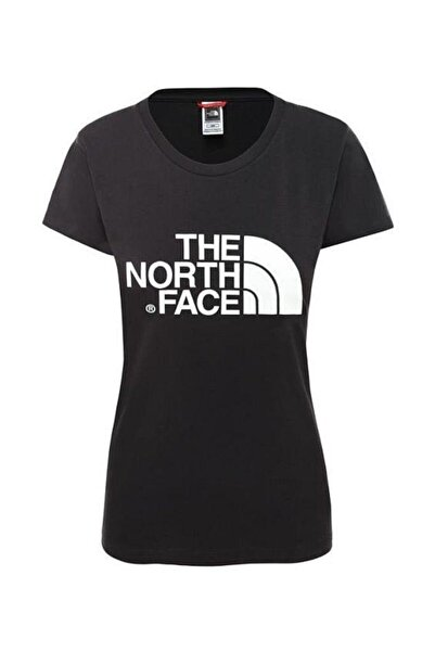 THE NORTH FACE Easy Kadın Kısa Kollu Tişört Siyah