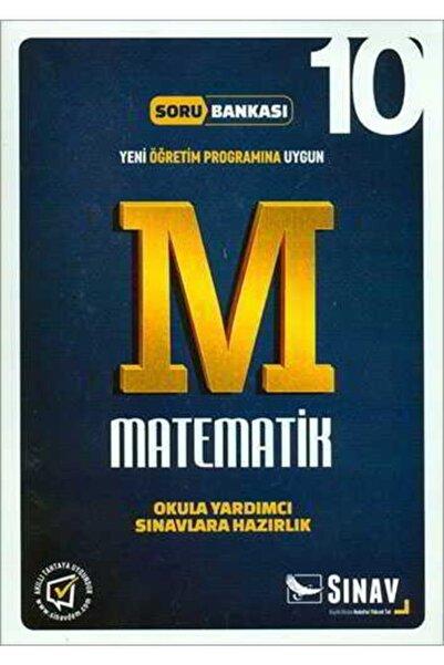 Sınav Yayınları Sınav 10.sınıf Matematik Soru Bankası