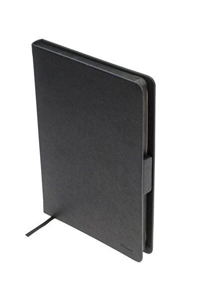 Scrikss Premium Not Defteri Çizgili Chester A6 Siyah Sd300-1