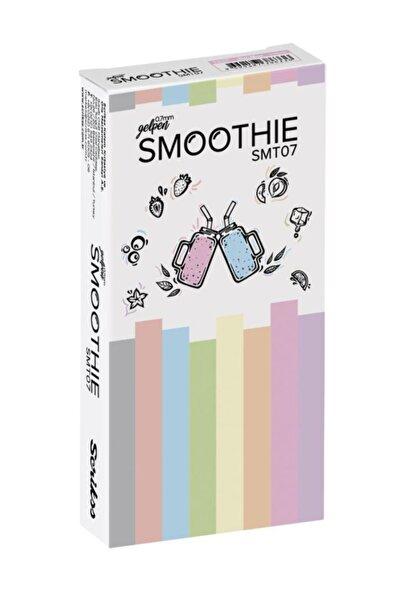Scrikss Smoothie Jel Tükenmez Kalem 0.7mm Sarı (12 Li Paket)