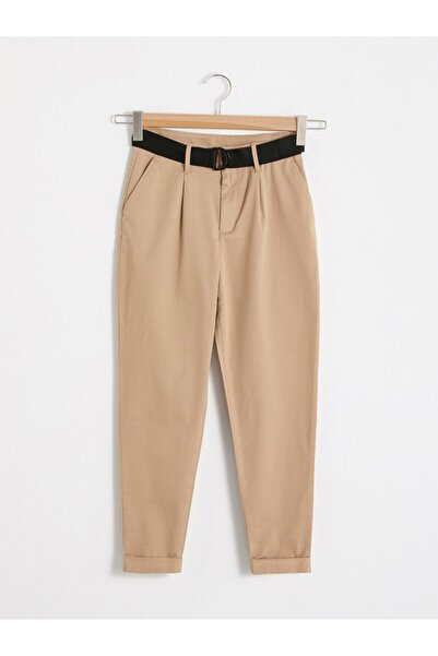 LC Waikiki Kadın Bej Pantolon