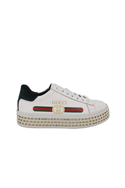 Hobby Prins Beyaz Kadın Spor Ayakkabı 85