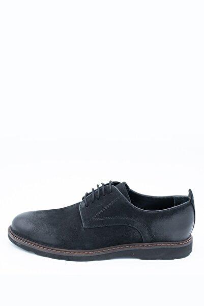 İgs Erkek Siyah Nubuk Deri Günlük I180118-2 M 1000 Ayakkabı