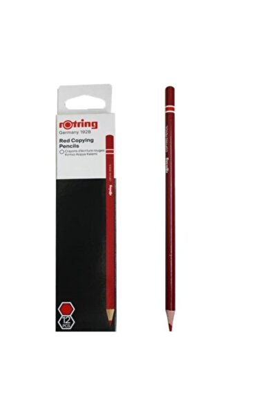 Rotring Kırmızı Kopya Kalemi (12 Li Paket) 2090069