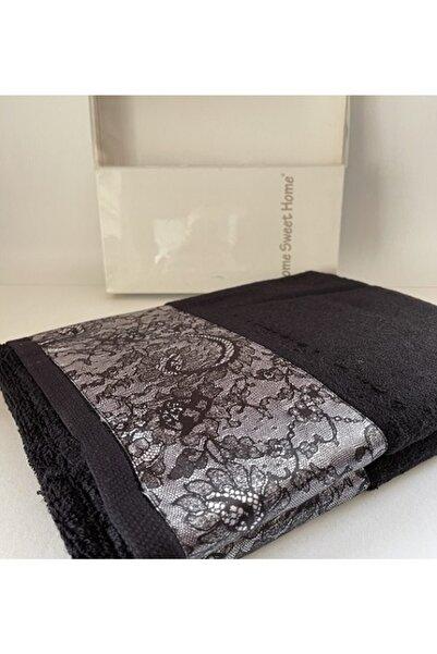 Home Sweet Home Emrah Tekstil Lace 90*150 Tek Havlu
