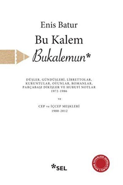 Sel Yayınları Bu Kalem Bukalemun Düşler Gündüşleri  Librettolar Kuruntular Oyunlar Romanlar Parçabaşı Dikiş