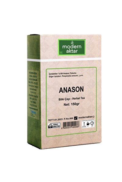 zin natural Anason 150 gr