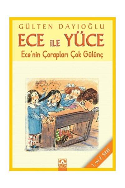 Altın Kitaplar - Çocuk Kitapları Ece Ile Yüce - Ece'nin Çorapları Çok Gülünç - Gülten Dayıoğlu