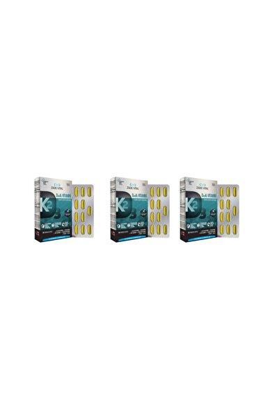 Zade Vital D3+k2 Vitamini 30 Kapsül 3'lü Paket
