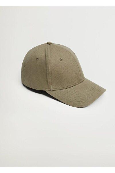 MANGO Man Pamuklu Beysbol Şapkası