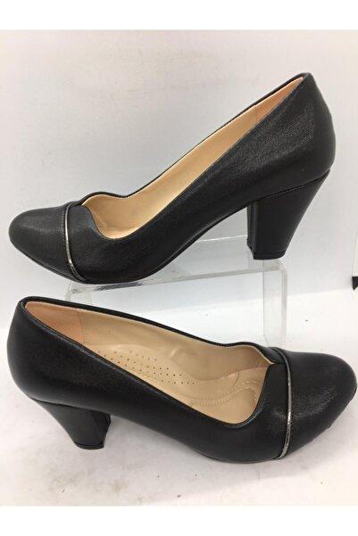 Essence Kadın Siyah Abiye Ayakkabı