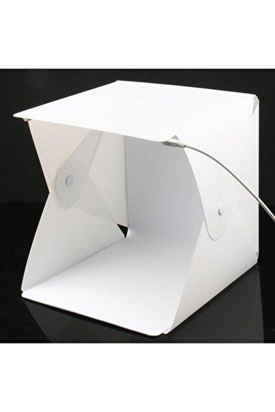 Santa Maria Jewels Mini Stüdyo Led Işıklı Ürün Fotoğraf Çekim Çadırı 20x20 Cm