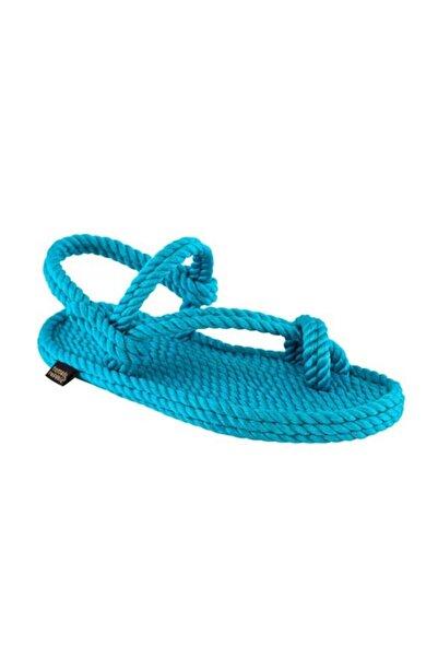 Nomadic Republic Hawaii Kadın Halat Sandalet - Turkuaz