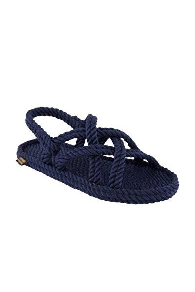 Nomadic Republic Bodrum Kadın Halat Sandalet - Lacivert