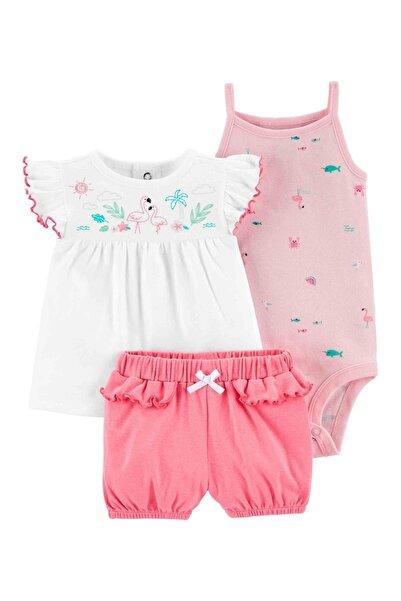 Carter's Carter S Layette Kız Bebek 3 Lü Set