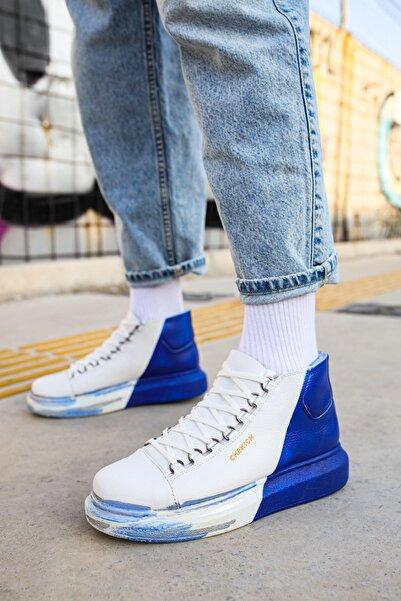 Chekich Ch263 Bt Erkek Ayakkabı 449 Beyaz / Mavi