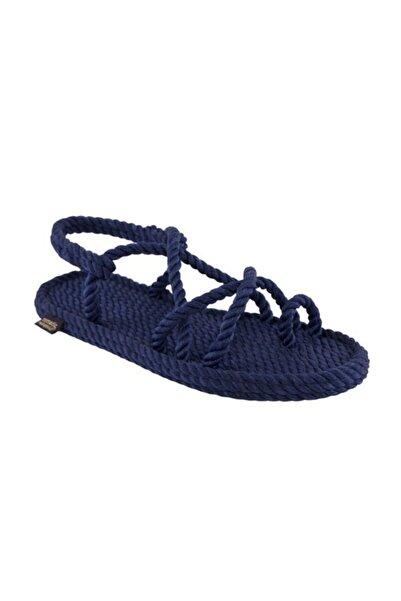 Nomadic Republic Ibiza Kadın Halat Sandalet - Lacivert