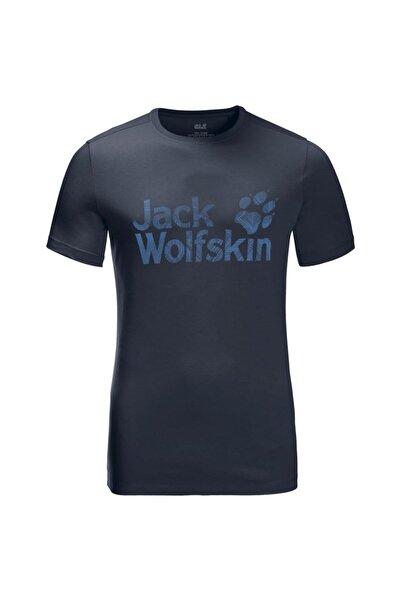 Jack Wolfskin Wolf Logo Erkek T-shirt - 5022191-1010