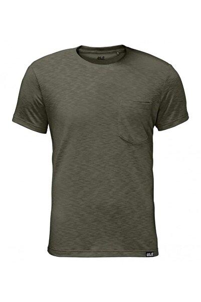 Jack Wolfskin Travel Tee Erkek T-shirt - 1805591-5052
