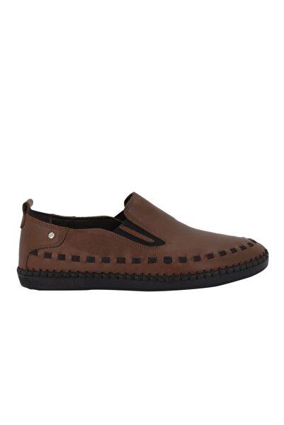 Hobby Taba Deri Yazlık Erkek Ayakkabı 3943