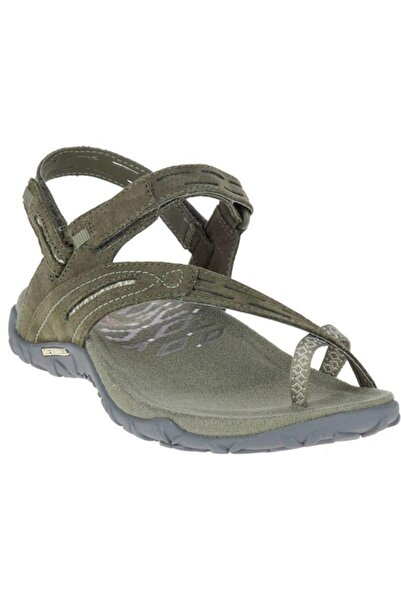 Merrell J98744terran Convert Iı Dusty Olive Kadın Sandalet