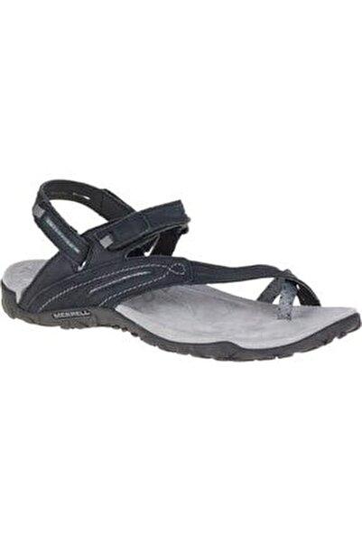 J55366 Terran Convert 2 Black Kadın Sandalet