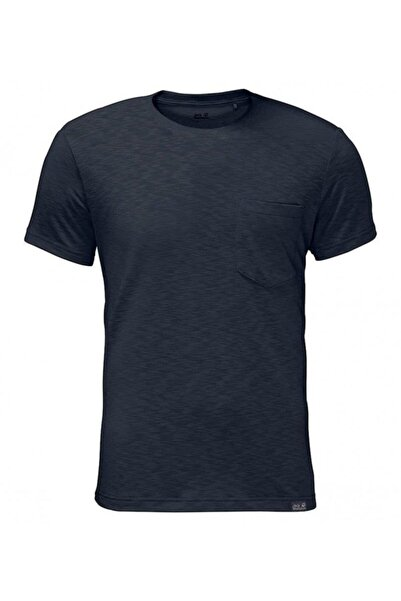 Jack Wolfskin Travel Tee Erkek T-shirt - 1805591-1010