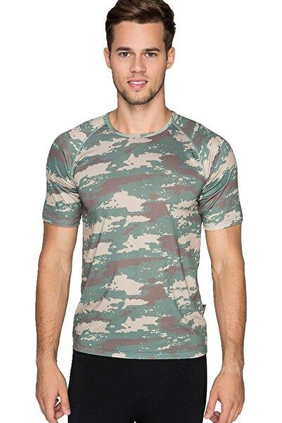 THERMOFORM Erkek Termal T-shirt Yeşil (Hzt1805-ysl)