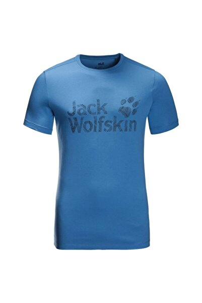 Jack Wolfskin Wolf Logo Erkek T-shirt - 5022191-1255