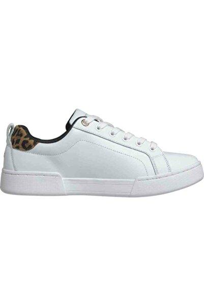 Tommy Hilfiger Th Kadın Leopar Desenli Sneaker