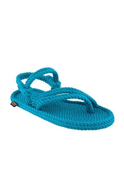 Nomadic Republic Cancun Kadın Halat Sandalet - Turkuaz