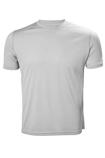 Helly Hansen Techt Erkek T-shirt Açık Gri