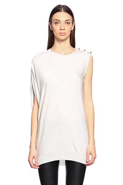 Lanvin Kol Detaylı Krem Rengi Bluz