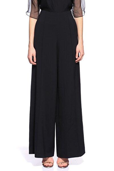Lanvin Geniş Kesim Siyah Pantolon