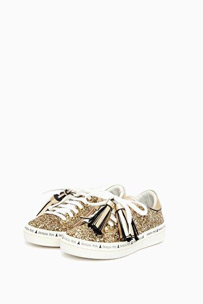 Patrizia Pepe Kız Çocuk Altın Ayakkabı 17fwpafsc02