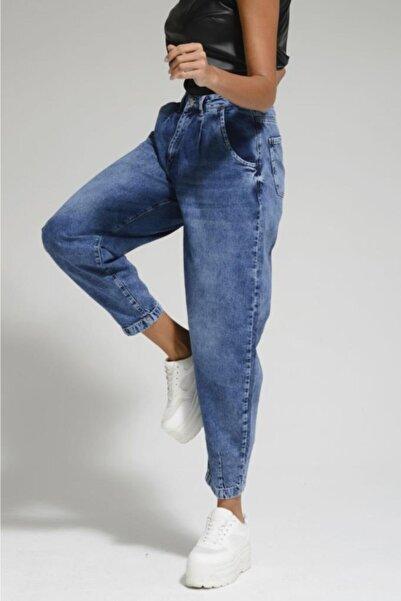 Batik Lacivert Kadın Jean Pantolon A1089