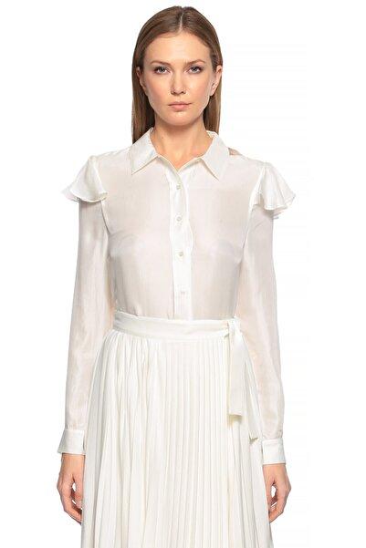 Maje Beyaz Gömlek